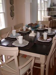 Neutral Toned Dining Area