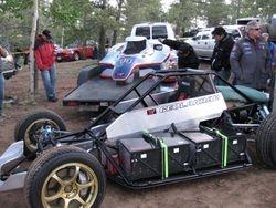 Ikuo Hanawa's electric car