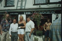 Pat Roach, Mick McManus, Sarah and Wayne Bridges
