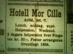 Hotell Mor Cilla 1952