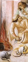 Pietro Lorenzetti, Last Supper, mid-14th, Assisi