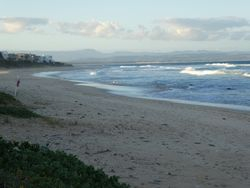 next it was down to the coast & Jefferys Bay to sell our beloved camper Huberta