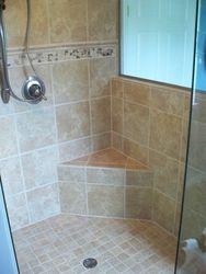 12x12 Porcelain shower
