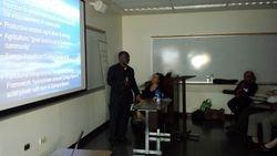 Dr. Gnaka speaking