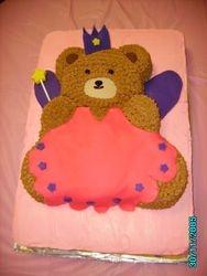 Princess Bear Cake