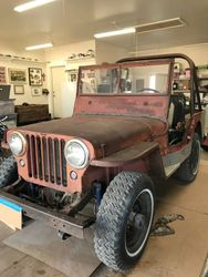 36.47 WILLYS CJ2A JEEP