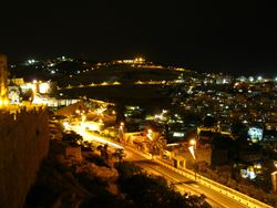 Mount of Olives at Night