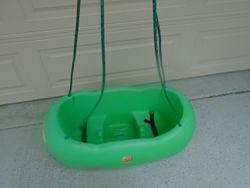 Step 2 Caterpillar Double Swing for Tree, Porch or Swing Set - $50