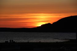 Sunset at Rocky Harbour, Gros Morne Park