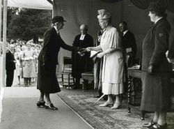 Queen Mary awarding WA staff