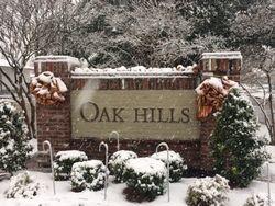 Oak Hills III Entrance