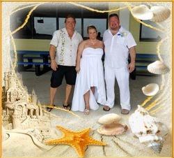A Hot Beach Wedding