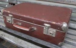 Tarybinis 7-to desimtmecio lagaminas. Kaina 21