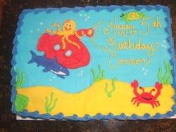 Underwater/ Submarine Cake