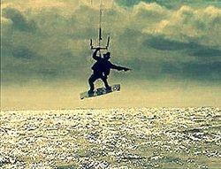 Cowboy-boarder taking aim