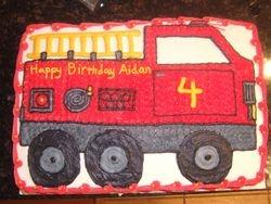 Firetruck Cake (1)