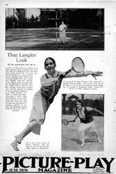 28  ad Lenglen Tennis Look