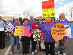 Walking against Domestic Abuse