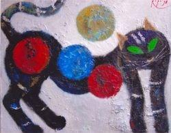 Kucing dan Imajinasi Balon, 1998