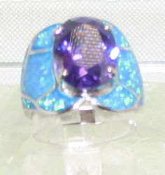 Amethyst Man Made Stone and