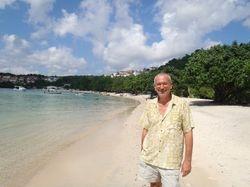 John on BBC beach