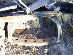 65A Thro 95E Swinging Drawbar Hitch & Drawbar