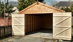 Apex Wooden Garage (20' x 12')