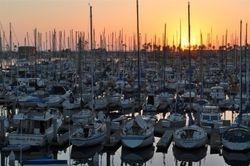 Ventura Harbor Sunset