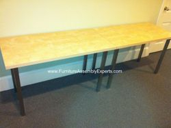 ikea vika amon table installation service in Baltimore MD