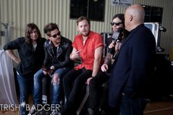 Backstage, Coke Zero Final Four Countdown Concert (02 Apr 11)