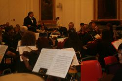 Another shot of VC conducting Hamlet  in Martellago, Italy (09/12/12)