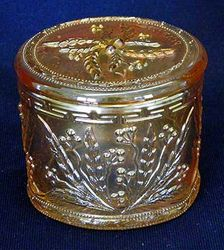 Wild Berries powder jar, marigold, manufacturer?