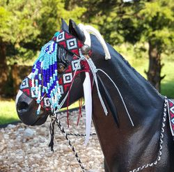 native american tack set 5