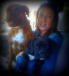 Brutus with his mom and big siter :)