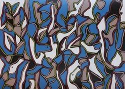 Mangroves bleu/blanc/rouge II