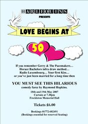 Our First Full Length Comedy Play