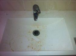 Bathroom Sink Before pic
