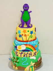 Barney Cake(B063)