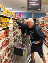 Bob and Doc are intense shoppers