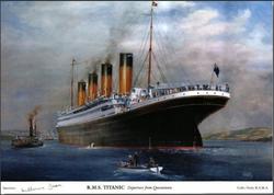 R.M.S. Titanic.1912.