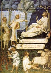 Martini, Frontispiece to Petrarch's Virgil, mid-14th