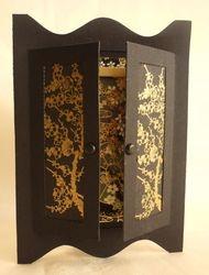Oriental cupboard