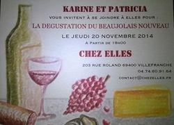 Le beaujolais nouveau 2014