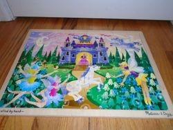 Melissa & Doug Fairy Fantasy Wooden Jigsaw Puzzle - $6
