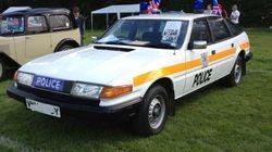 Rover SD1 Police car
