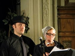 David Kossack and Elizabeth Livesay