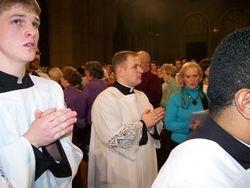 Seminarian, Jeff Paveglio