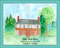 John Ford Home, Sandy Hook, MS