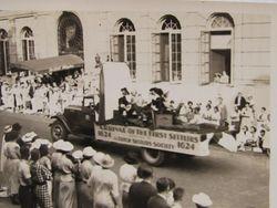 DSSA float in 1924