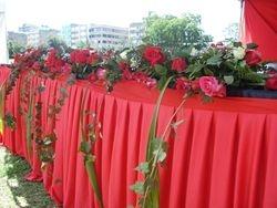 Bridal table deco idea